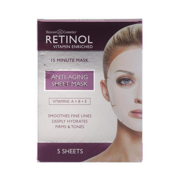 Retinol Anti-Aging Sheet Masks - View 2