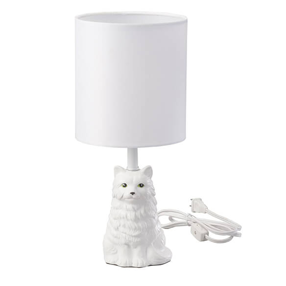 Playful Cat Lamp with Shade - View 2
