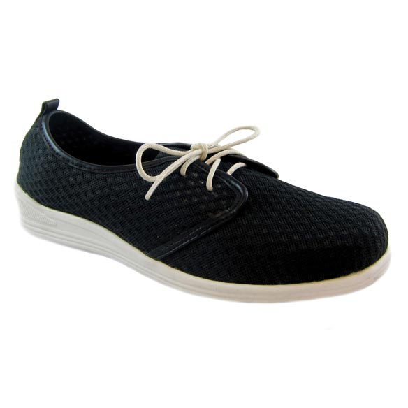 Beacon® Laurie Mesh Lace-Up Shoe - View 3