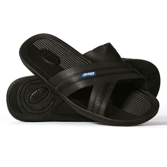 Bokos Men's Rubber Sandals - View 2