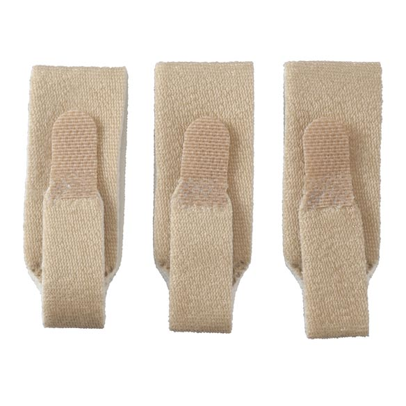 Foam-Lined Finger Loops, Set of 3 - View 2
