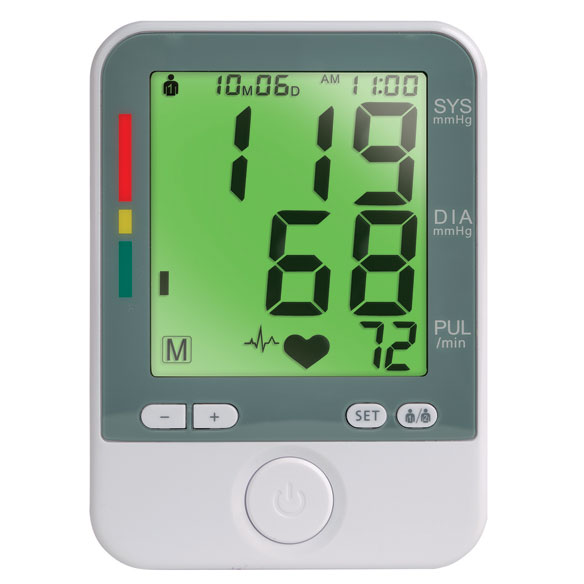Color Changing Blood Pressure Monitor - View 3
