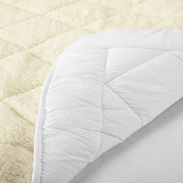 all seasons reversible sherpa luxury mattress pad miles With all seasons reversible mattress pad