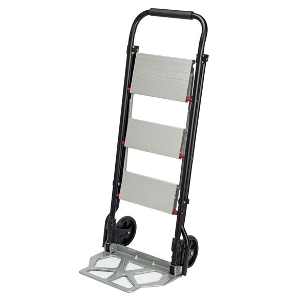 Rolling Step Ladder Dolly by LivingSURE™ - View 4