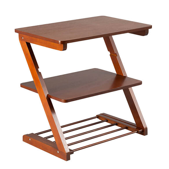 Side Table with Adjustable Shelf by OakRidge™ - View 2