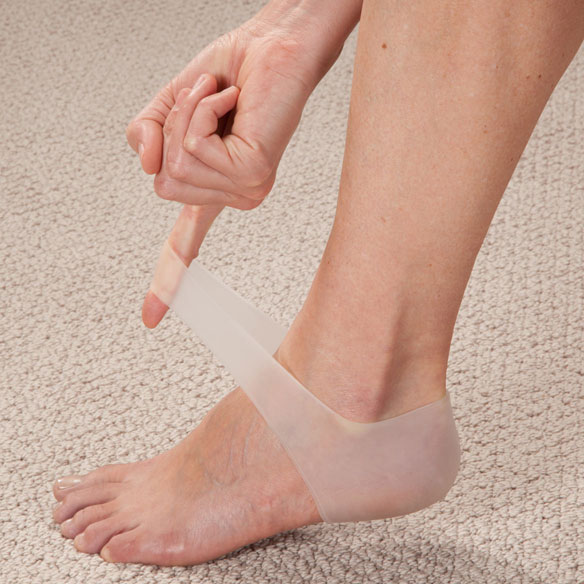 Silver Steps™ Silicone Gel Heel Sleeve - 1 Pair - View 2