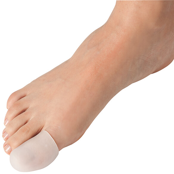 Silver Steps™ Protective Toe Caps, Set of 2 - View 2