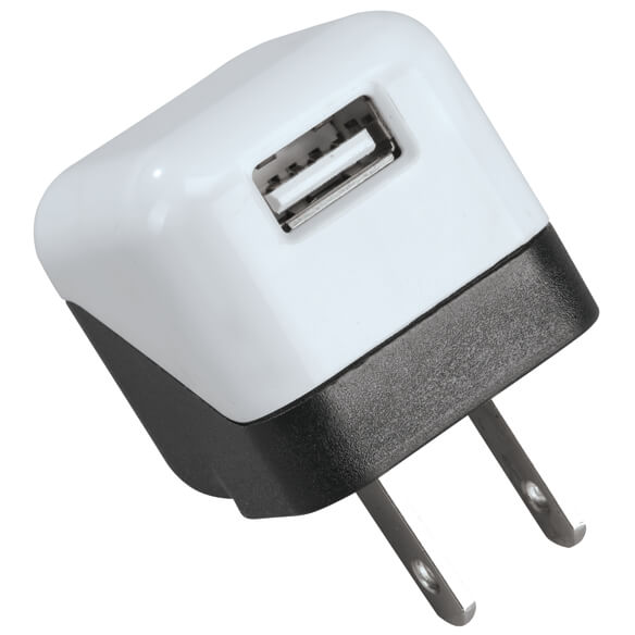 Single USB Wall Adapter - View 2