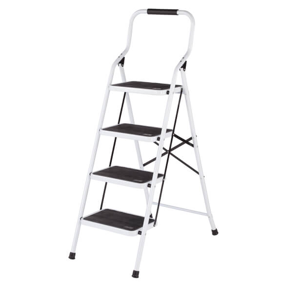 Folding Four-Step Ladder by LivingSURE™ - View 4