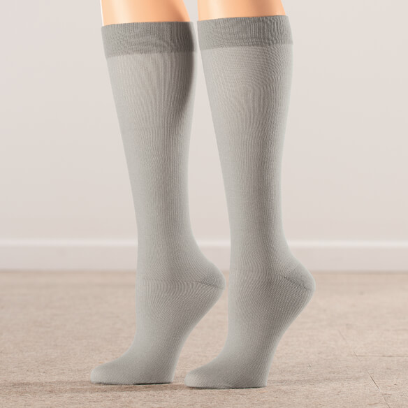 Silver Steps™ Compression Socks 8–15 mmHg, 3 Pair - View 3