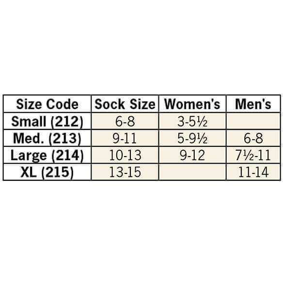 Healthy Steps™ Wide Calf Compression Socks 8-15 mmHg, 3 Pair - View 5