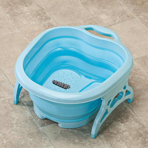 Collapsible Foot Spa with Massager - View 2