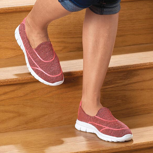 Silver Steps™ Feather Lite Walking Shoe - View 4