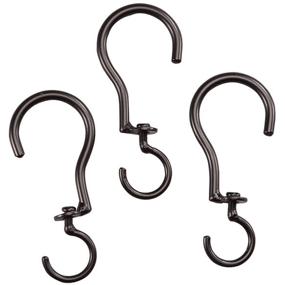 Swivel Basket Hooks, Set of 3 - View 3