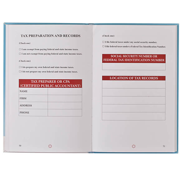 The In Case of Emergency WorkBook - View 4