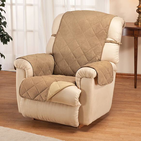 Naomi Suede-Microfiber Recliner Cover by OakRidge™ - View 2