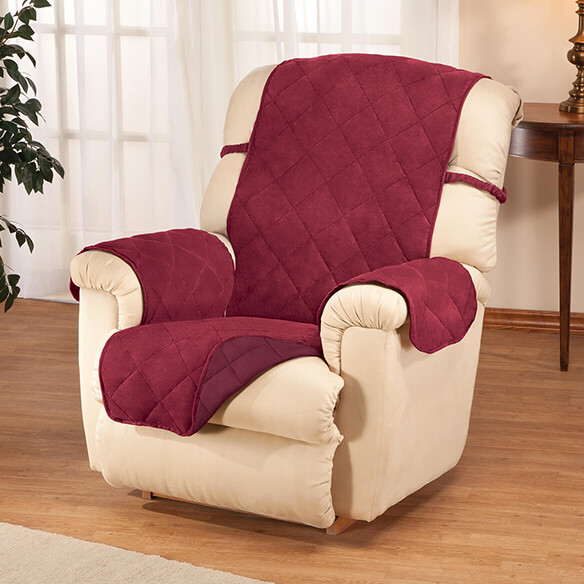 Naomi Suede-Microfiber Recliner Cover by OakRidge™ - View 3
