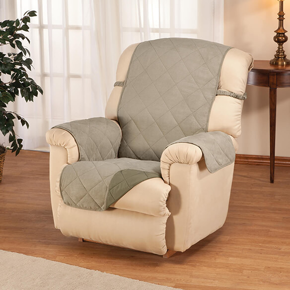 Naomi Suede-Microfiber Recliner Cover by OakRidge™ - View 4