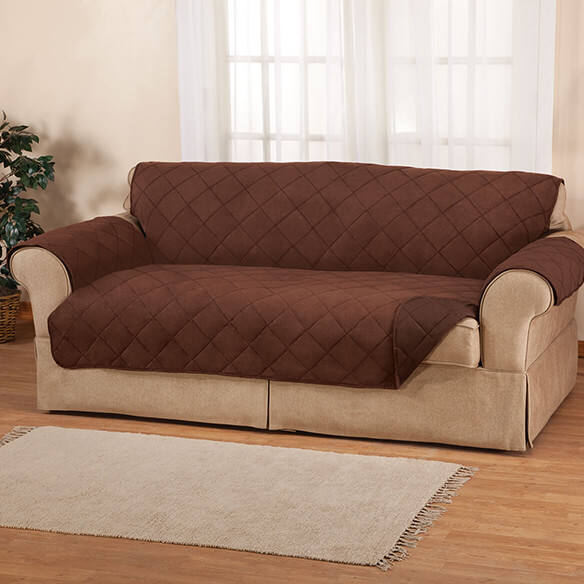 Naomi Suede-Microfiber XL Sofa Cover by OakRidge™ - View 2