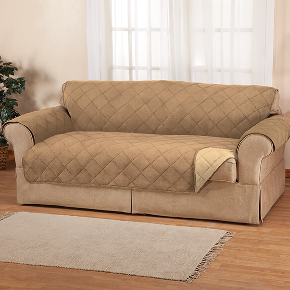 Naomi Suede-Microfiber XL Sofa Cover by OakRidge™ - View 4