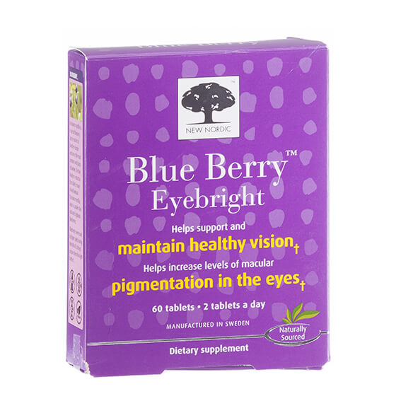 New Nordic Blue Berry™ Eyebright Tablets - View 2