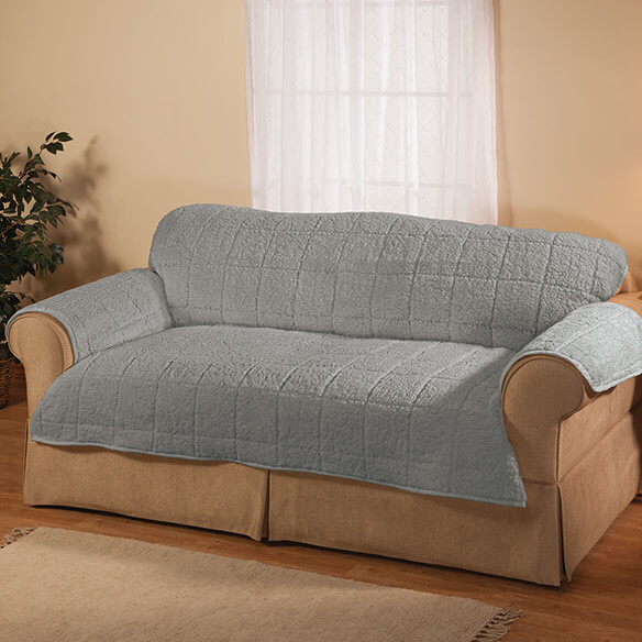 Bradley Sherpa Loveseat Protector by OakRidge - View 2