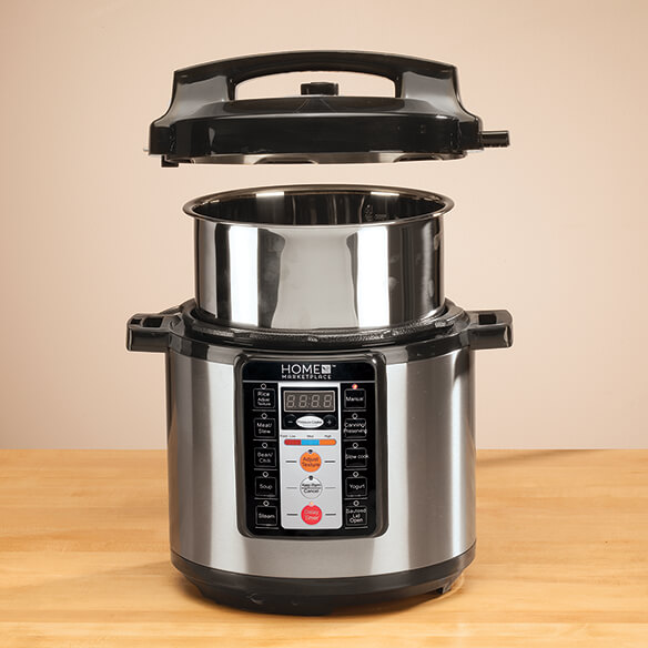Multi-Function Electric Pressure Cooker by Home Marketplace - View 2