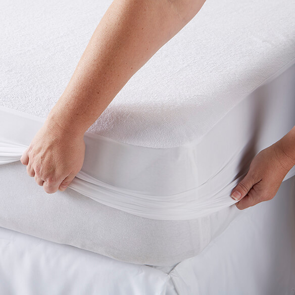 Cotton Terry Mattress Protector - View 2