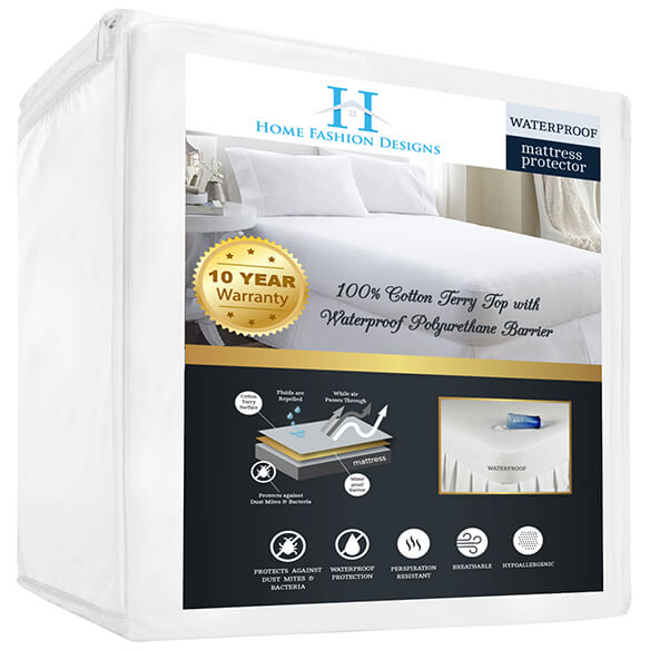 Cotton Terry Mattress Protector - View 3