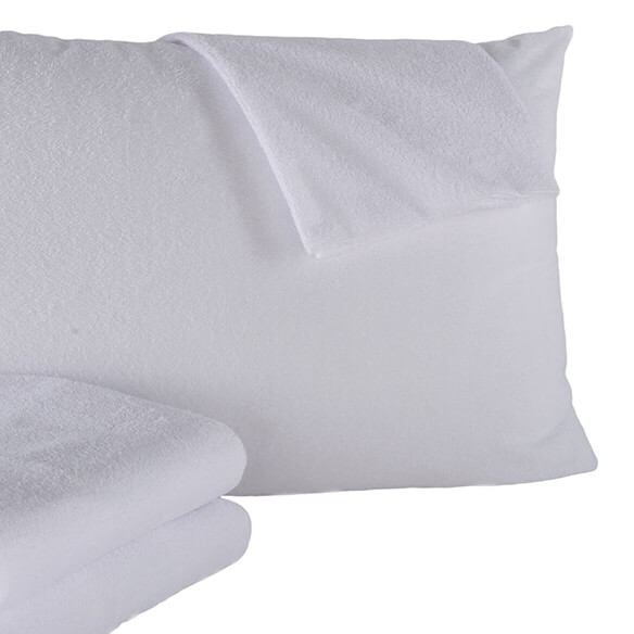 400 Thread Count 100% Cotton Pillow Protectors, 2-Pack - View 5