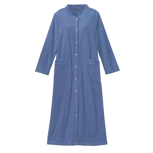 Fleece Snap Front Robe by Sawyer Creek - View 2
