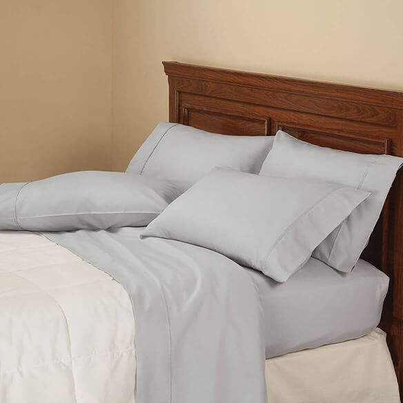 6-Piece 850 Thread Count Cotton Rich Twill Sheet Set - View 2