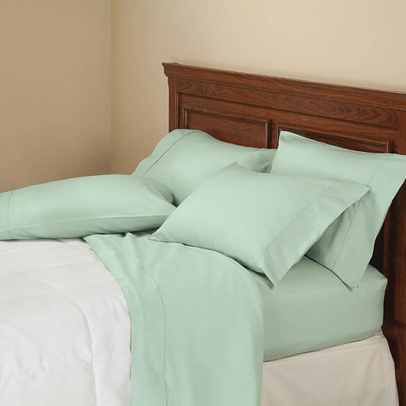 6-Piece 850 Thread Count Cotton Rich Twill Sheet Set - View 3