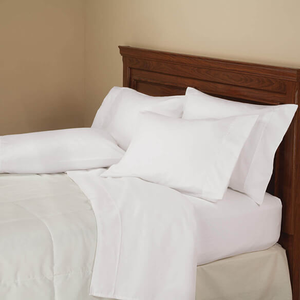 6-Piece 850 Thread Count Cotton Rich Twill Sheet Set - View 4