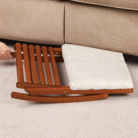 Deluxe Foldable Rocking Footrest - View 4