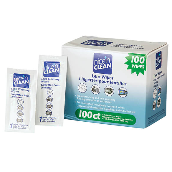 Nice 'n Clean Lens Wipes, 100 Ct. - View 2