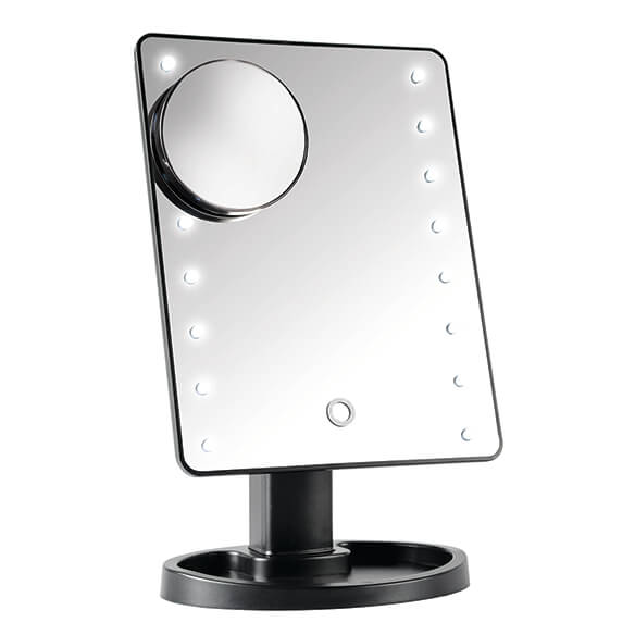 Light-Up Makeup Mirror with 10x Magnifier - View 2