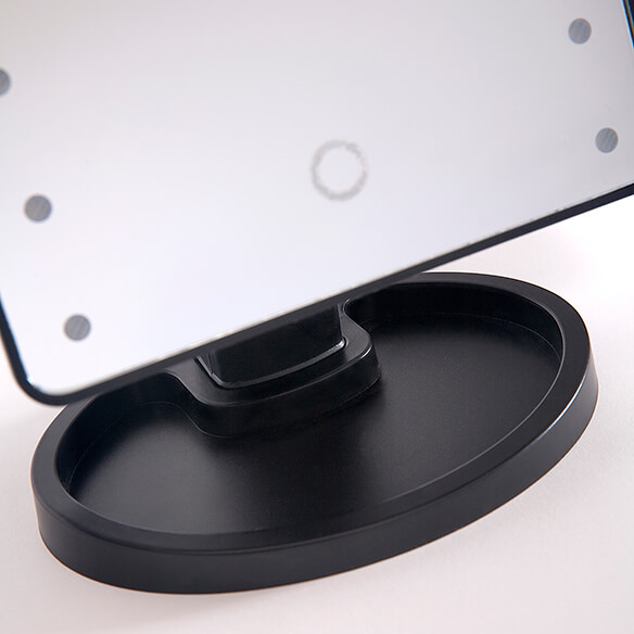 Light-Up Makeup Mirror with 10x Magnifier - View 3