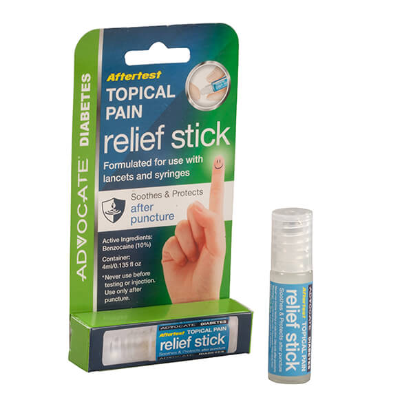 Advocate Aftertest Topical Pain Relief Stick - View 2