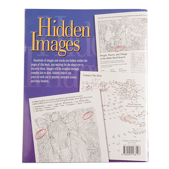Hidden Images Puzzle Book - View 2