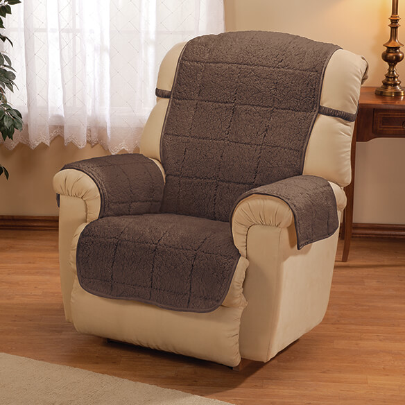 Parker Water-Resistant Sherpa Recliner Protector by OakRidge™ - View 2