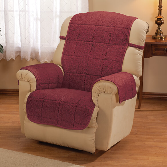 Parker Water-Resistant Sherpa Recliner Protector by OakRidge™ - View 3