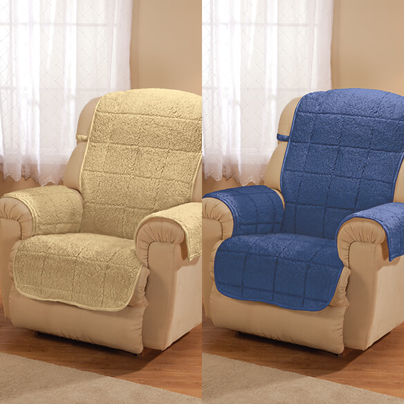Parker Water-Resistant Sherpa Recliner Protector by OakRidge™ - View 4