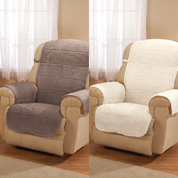 Parker Water-Resistant Sherpa Recliner Protector by OakRidge™ - View 5