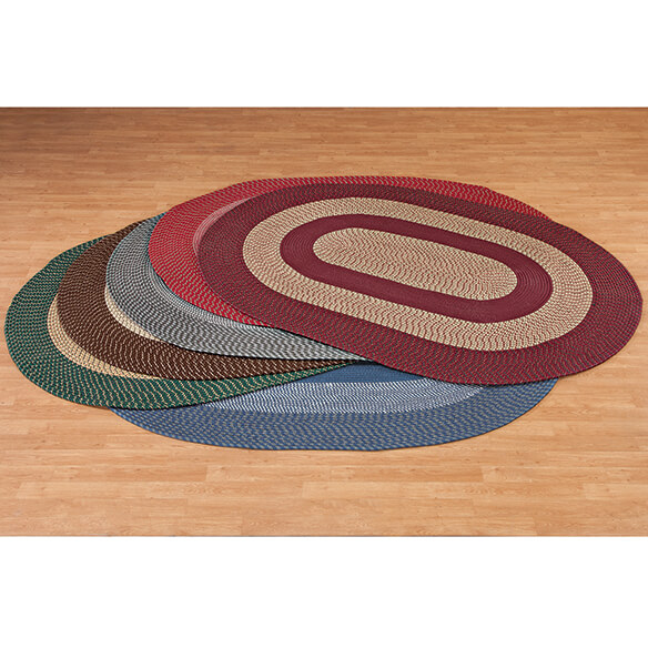 Two-Tone Country Braided Rug by OakRidge        XL - View 2