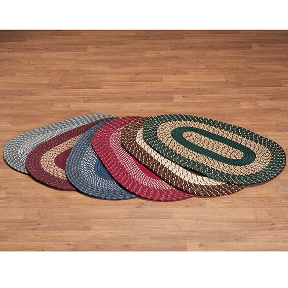 Two-Tone Country Braided Rug by OakRidge        XL - View 3