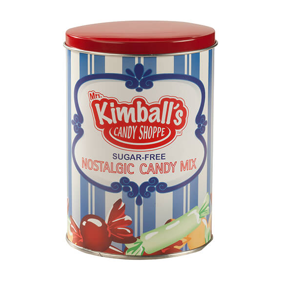 Sugar-Free Nostalgic Candy Tin by Mrs. Kimball's Candy Shoppe™ - View 2