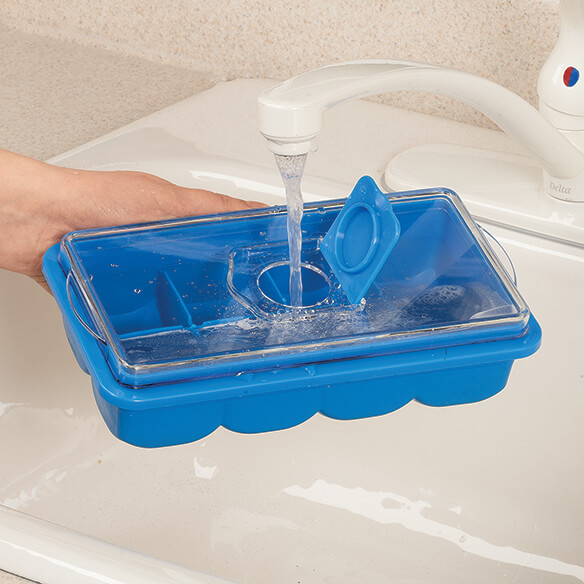 No-Spill Ice Cube Tray - View 2