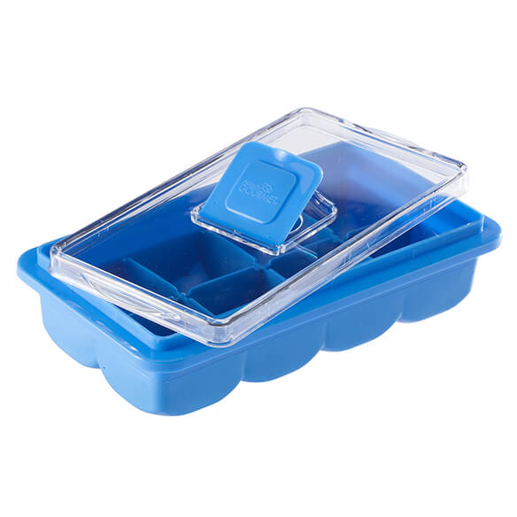 No-Spill Ice Cube Tray - View 3