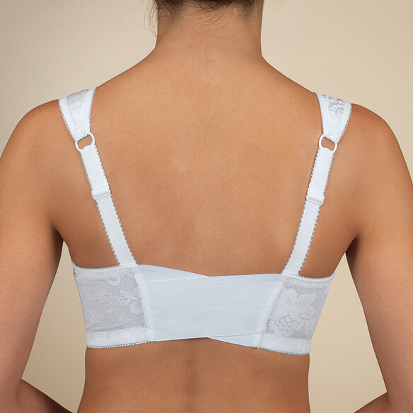 Front Hook Flex Back Comfort Bra - View 2